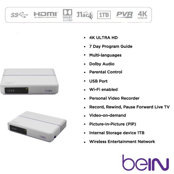 beIN HD Digital Satellite Receiver