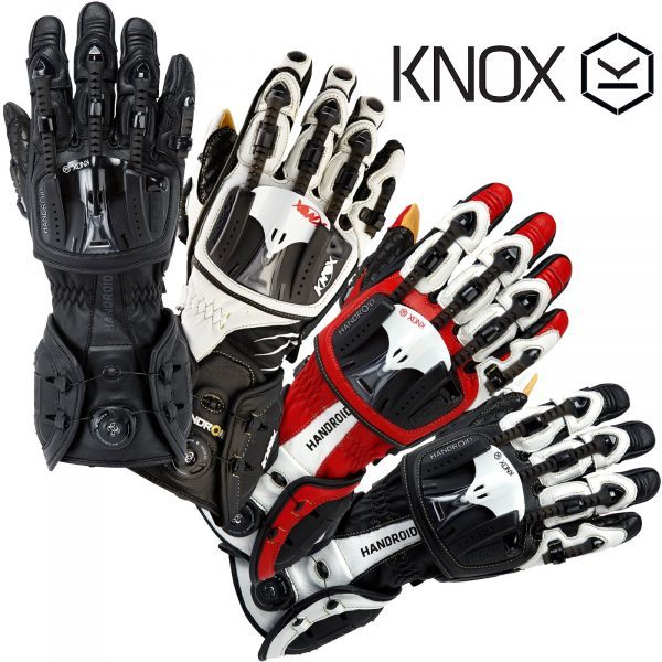 Knox Armour Handroid MKIII Motorcycle Bike Gloves