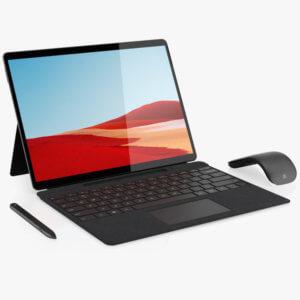 Microsoft 13″ Multi-Touch Surface Pro X